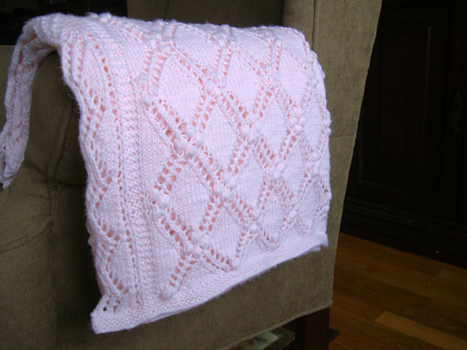 Fearless Dreamer Lace Baby Blanket Knitting Patterns For